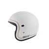 Casque Torx Flag Racer White Shiny