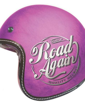 Casque Torx SUNDAY Road Again Worn Pink